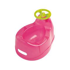 Pot avec volant - Rose translucide