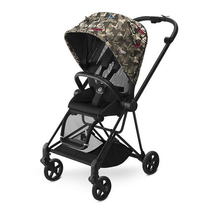 Kinderwagen Mios Black - Butterfly