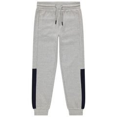 Junior - Pantalon de jogging en molleton fantaisie chiné