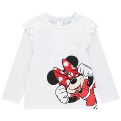 T-shirt manches longues motif Minnie Disney