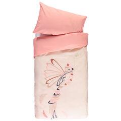 Parure de lit avec housse de couette et taie d'oreiller Magic bird  , Prémaman