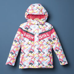 """Junior - Waterdichte ski-jas met grafische print """"all-over"""""""