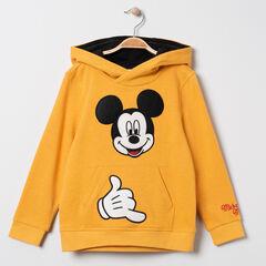 Sweat en molleton à capuche motif Mickey Disney