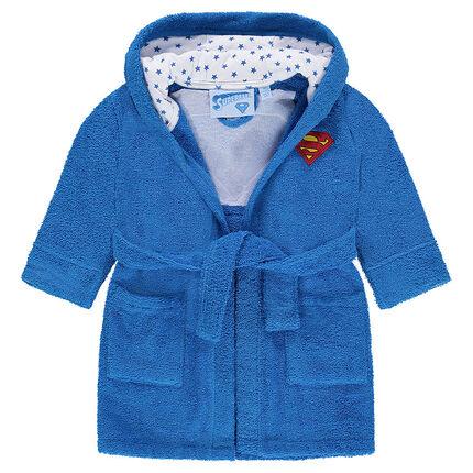 Badjas van badstof met Superbaby™ patch