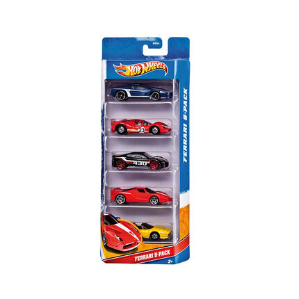Hot wheeld 5 car giftpack