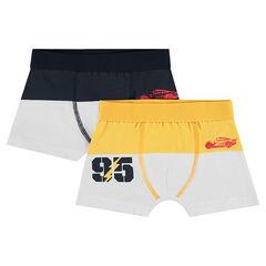 Lot de 2 boxers bicolores Disney/Pixar® print Cars