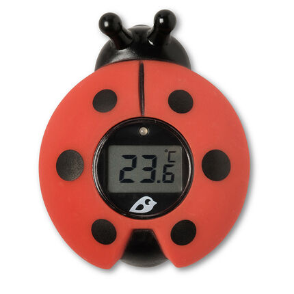 Bad- en kamerthermometer - Lieveheersbeestje