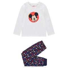 Pyjama uit jerseystof met print van ©Disney Mickey