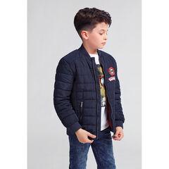 Junior - Gewatteerde jekker met zakken met ritssluiting