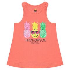 Débardeur en jersey avec ananas printés