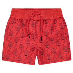 "©Disney zwemshort met Mickey-print ""all-over"""