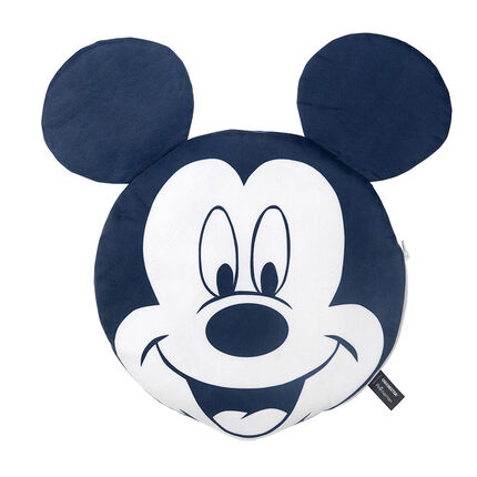 Kussen van Disney's Mickey met hoes met sherpapatroon