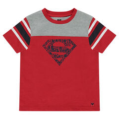 Tee-shirt manches courtes en jersey print ©Warner Superman