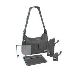 Luiertas Urban bag - Zwart