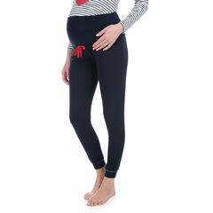 Pantalon homewear uni avec bandeau haut