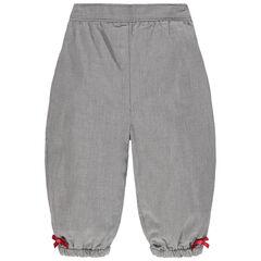 Pantalon en maille à petits noeuds