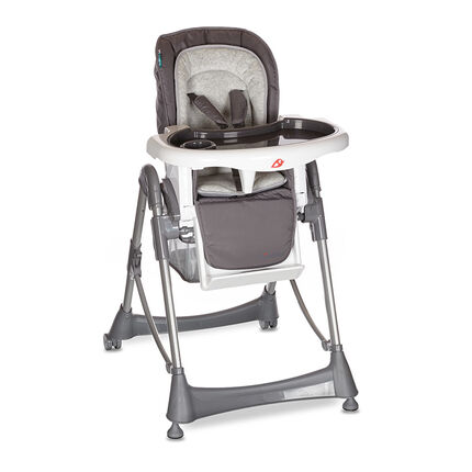 Kinderstoel Luxe Metaal - Antraciet