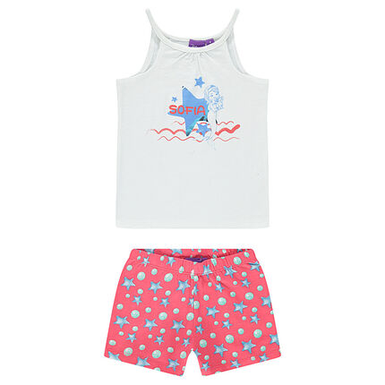 Korte pyjama van Disney's prinses Sofia
