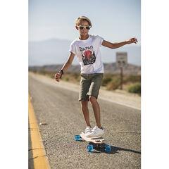 Junior - Tee-shirt manches courtes en jersey avec print fantaisie