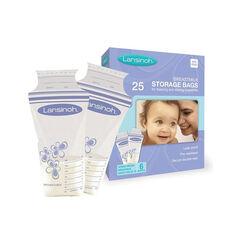 Lot de 25 sachets de conservation de lait maternel