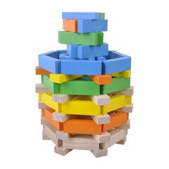 Jeu de construction en bois 100 pièces