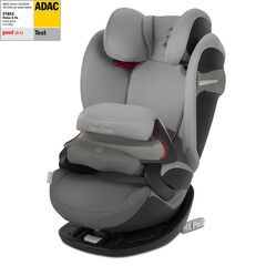 Autostoel isofix Pallas S-Fix groep 1/2/3 - Manhattan grey/Mid grey