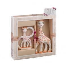 Coffret cadeau naissance Sophie la Girafe