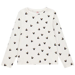T-shirt manches longues imprimé Minnie Disney all-over , Orchestra