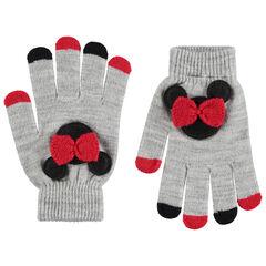 Gants en tricot Minnie
