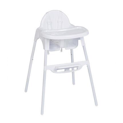 Chaise haute 2 en 1 Capucine - Blanc