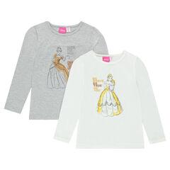 Lot de 2 maillots de corps Disney Belle et Cendrillon