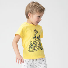 Tee-shirt manches courtes en jersey avec ancre printée