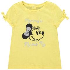 T-shirt manches courtes print Minnie Disney et noeuds , Orchestra