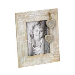 Cadre en bois Vintage Le Coeur - 10x15 cm