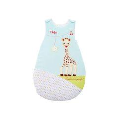 Slaapzak voor pasgeboren sophie la giraphe met drukknop