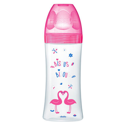 Biberon Sensation+ 330 ml 6m+ - Fuchsia