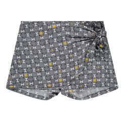 Junior - Jupe culotte imprimée all-over