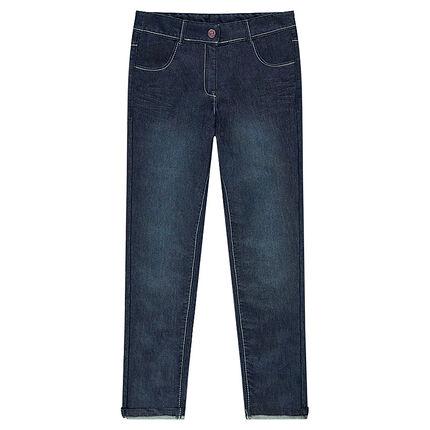 Junior - Jeans slim effet used