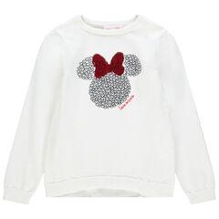 Pull uni à motif Minnie Disney et noeud en sequins magiques , Orchestra