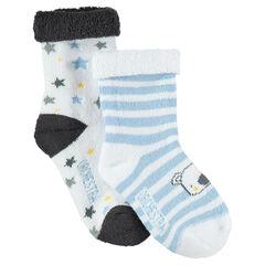 Set met 2 paar matching sokken met koala en sterren van jacquard
