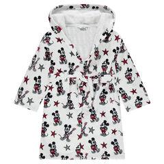 Badjas van badstof van Disney met Mickey motief