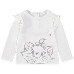 T-shirt manches longues avec print Marie Aristochats Disney