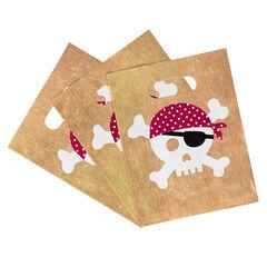 x 10 sacs à bonbons anniversaire Pirate