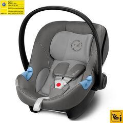 Autostoel Aton M i-size - Manhattan grey/Mid grey