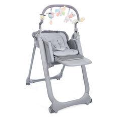 Chaise haute évolutive Polly Magic Relax - Graphite