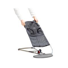 Dekbedovertrek voor ligstoel Bliss – Anthraciet mesh