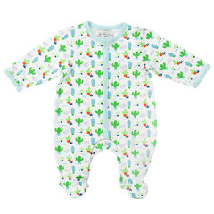 Ensemble dors-bien imprimé cactus all-over et bonnet