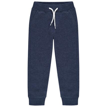 Pantalon de jogging en molleton chiné