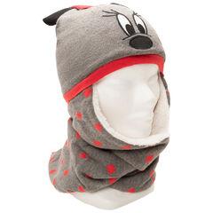 Bonnet écharpe doublé sherpa Minnie Disney