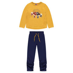 Junior - Ensemble de jogging en molleton print fantaisie